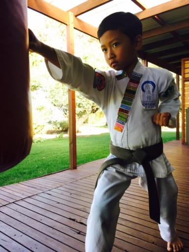 Kepercayaan dirinya berkembang pesat sejak bergabung di Martial Arts